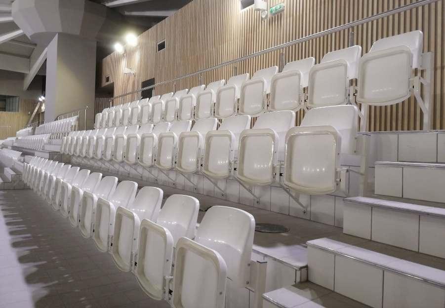składane krzesełka stadionowe Olimp Prostar Poznań