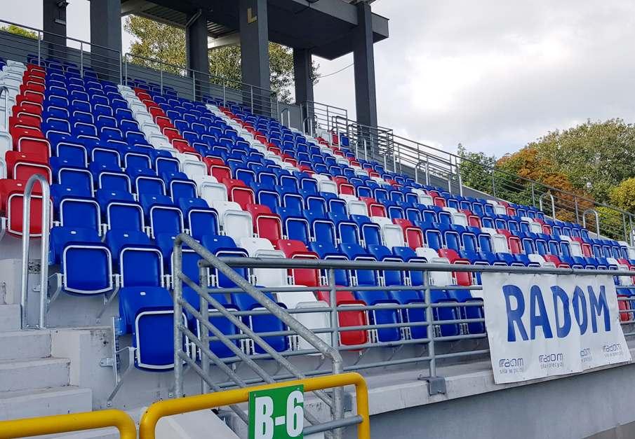 krzesełka stadionowe składane prostar producent 1909