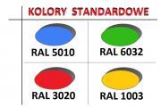 krzesełka stadionowe prostar - kolory standardowe
